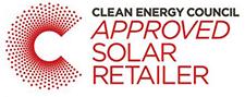 clean energy council approved solar retailer logo